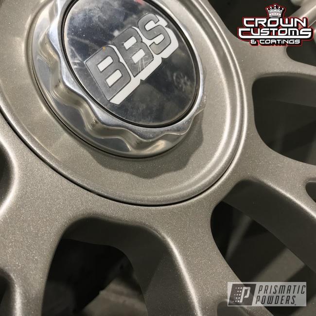 Powder Coating: Wheels,Automotive,VEGAS GOLD UMB-1811,BBS Wheels