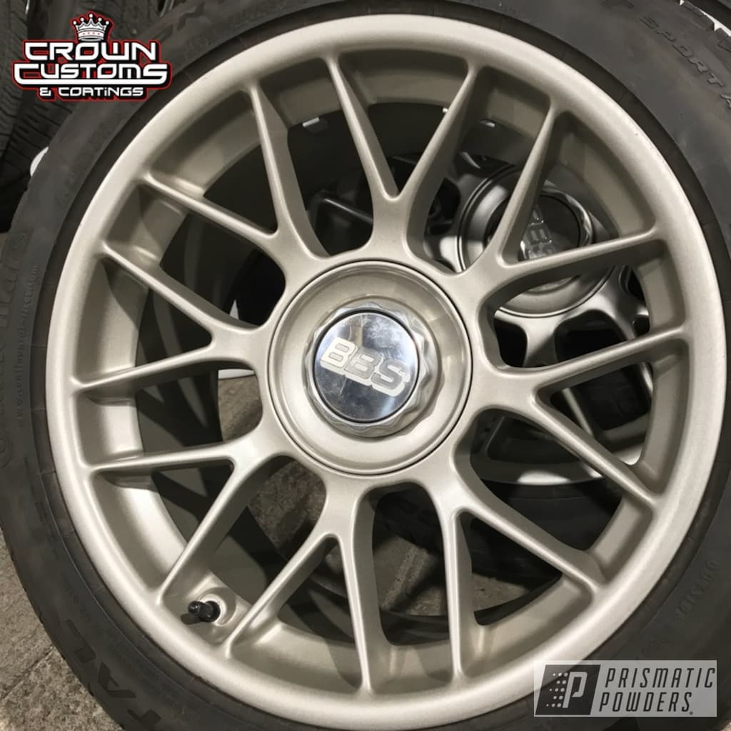 Bbs Wheels & Center Caps Done In Vegas Gold | Gallery