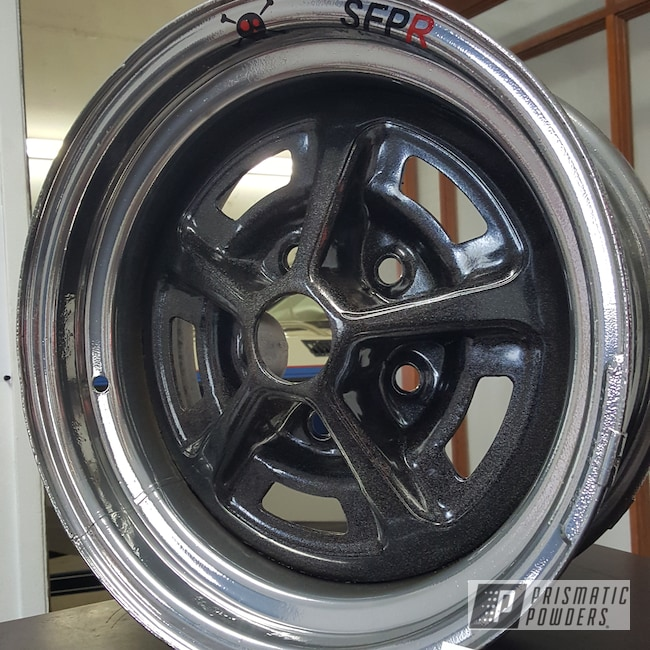 Powder Coating: Rim,SUPER CHROME USS-4482,City Lights PMB-2689