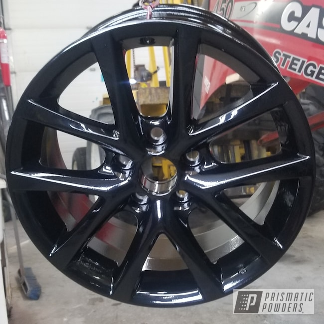 Powder Coating: Rims,Ink Black PSS-0106