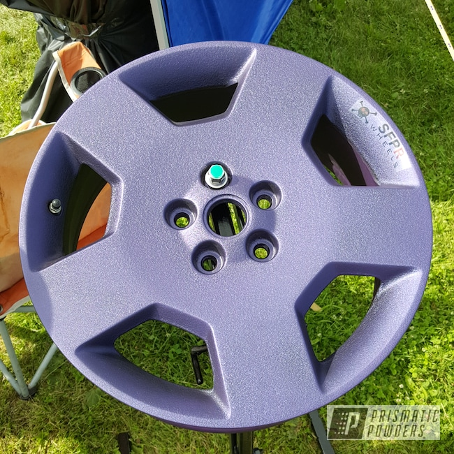 Powder Coating: Illusion Purple PSB-4629,Clear Vision PPS-2974,Rims,Splatter Plum PWB-2881
