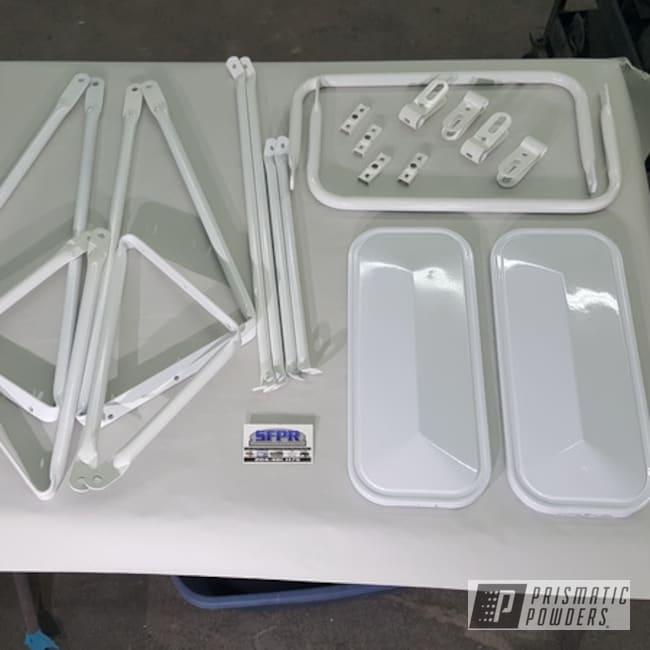 Powder Coating: Gloss White PSS-5690,Semi Truck Parts