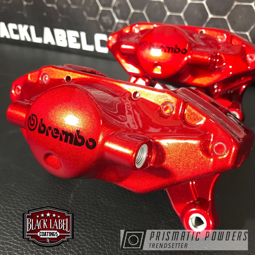 Powder Coating: Clear Vision PPS-2974,Brake Calipers,Illusion Cherry PMB-6905,Two Coat