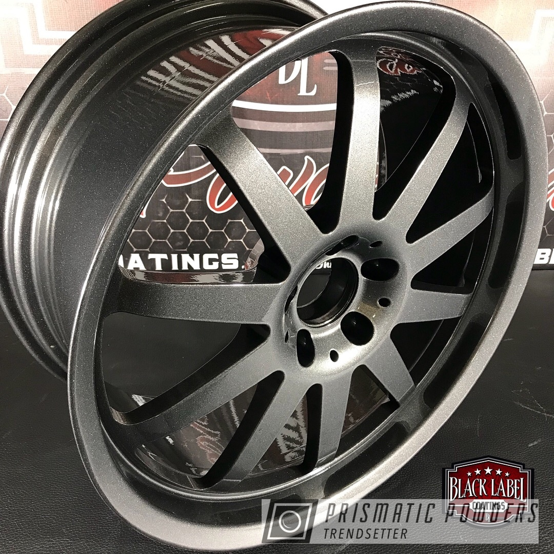 Powder Coating: Clear Vision PPS-2974,Renntech Wheels,Kingsport Grey PMB-5027,Two Coat