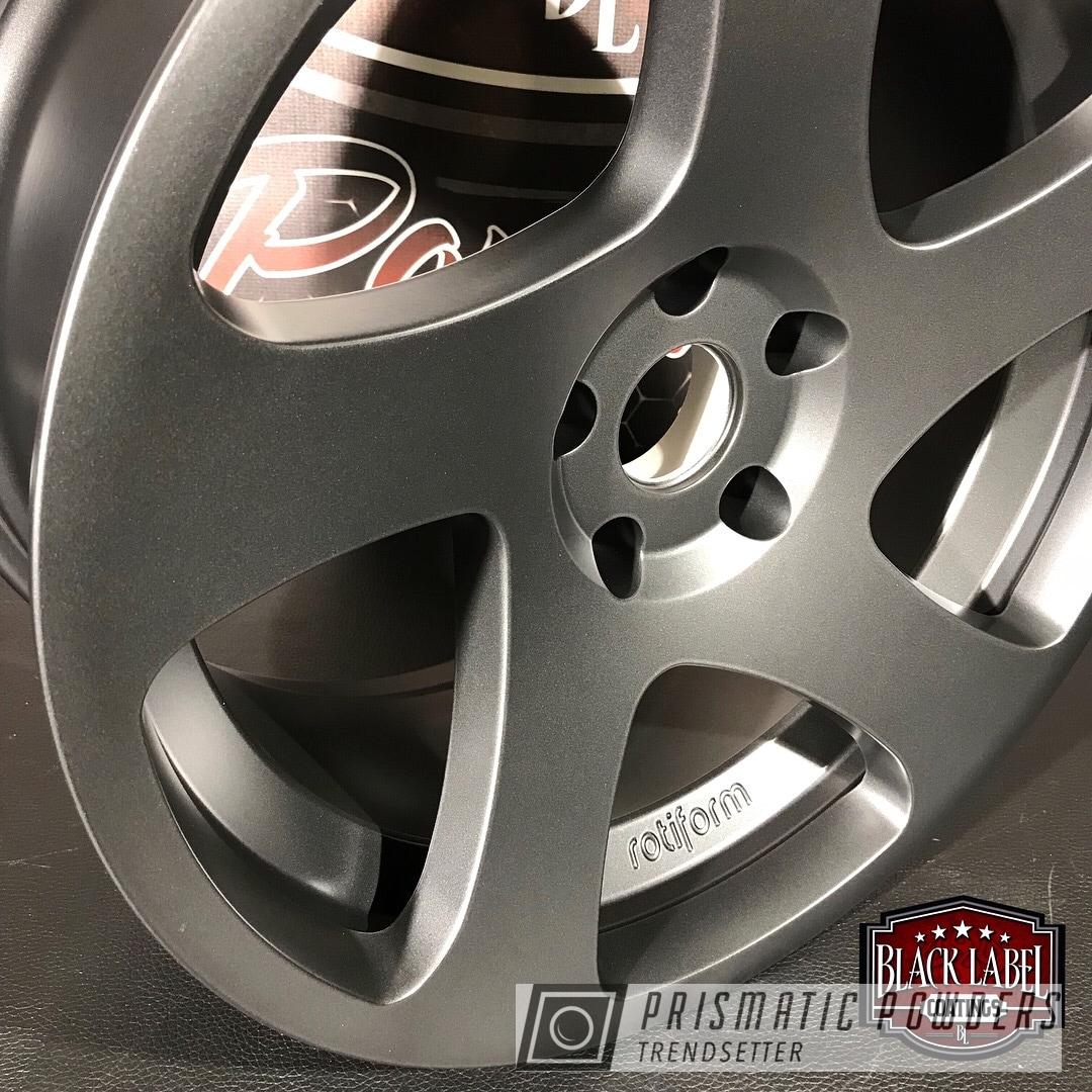 Powder Coating: Evo Grey PMB-5969,Rotiform Wheels