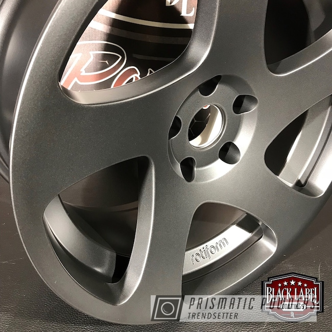 Powder Coating: Evo Grey PMB-5969,Rotiform Wheels
