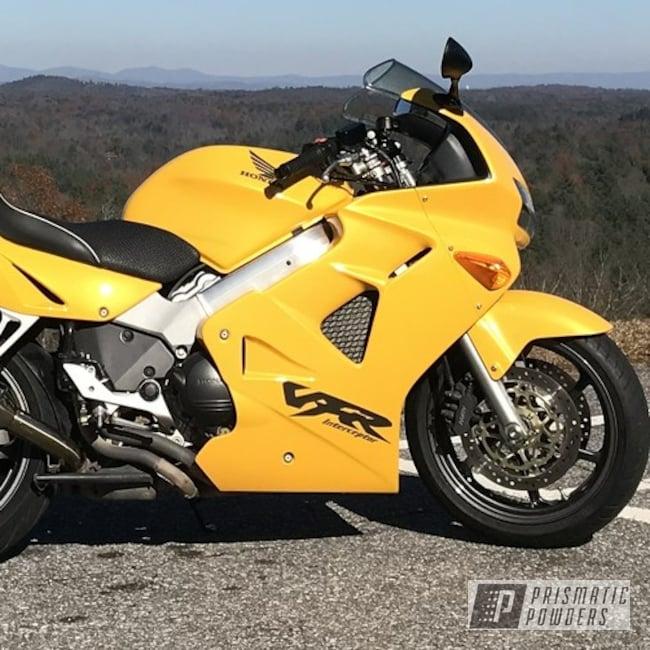 Powder Coating: Stealth Charcoal PMB-6547,Clear Vision PPS-2974,Honda,Motorcycles,Honda Motorcycle Wheels