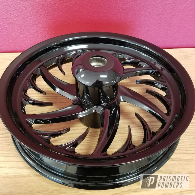 Powder Coating: Wheels,Custom Wheels,Ink Black PSS-0106