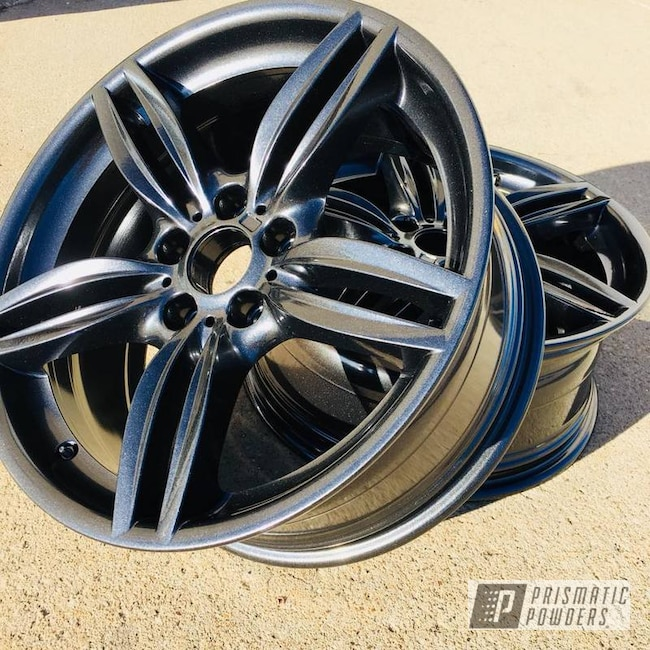 Powder Coating: Wheels,Automotive,BMW,Cadillac Grey PMB-6377