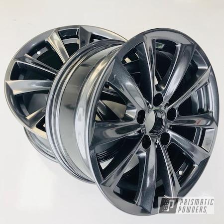 Powder Coating: Wheels,BMW,Grey,Cadillac Grey PMB-6377