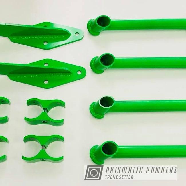 Powder Coating: Energy Green PSB-6669,Green,Suspension