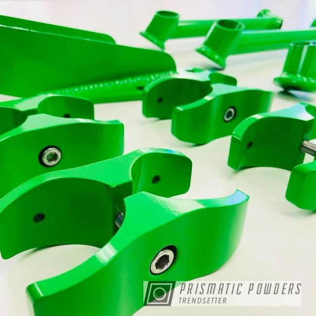 Suspension Components In Energy Green