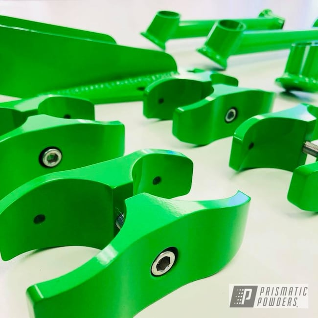 Powder Coating: Energy Green PSB-6669,green,Suspension
