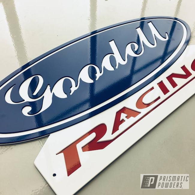 Powder Coating: Custom,Monogram,Polar White PSS-5053,Sign,Ford Dark Blue PSB-4624,Astatic Red PSS-1738,Shop