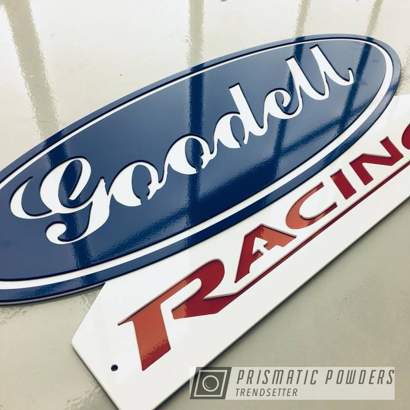Powder Coating: Custom,Monogram,Polar White PSS-5053,Sign,Ford Dark Blue PSB-4624,Astatic Red PSS-1738,Shop