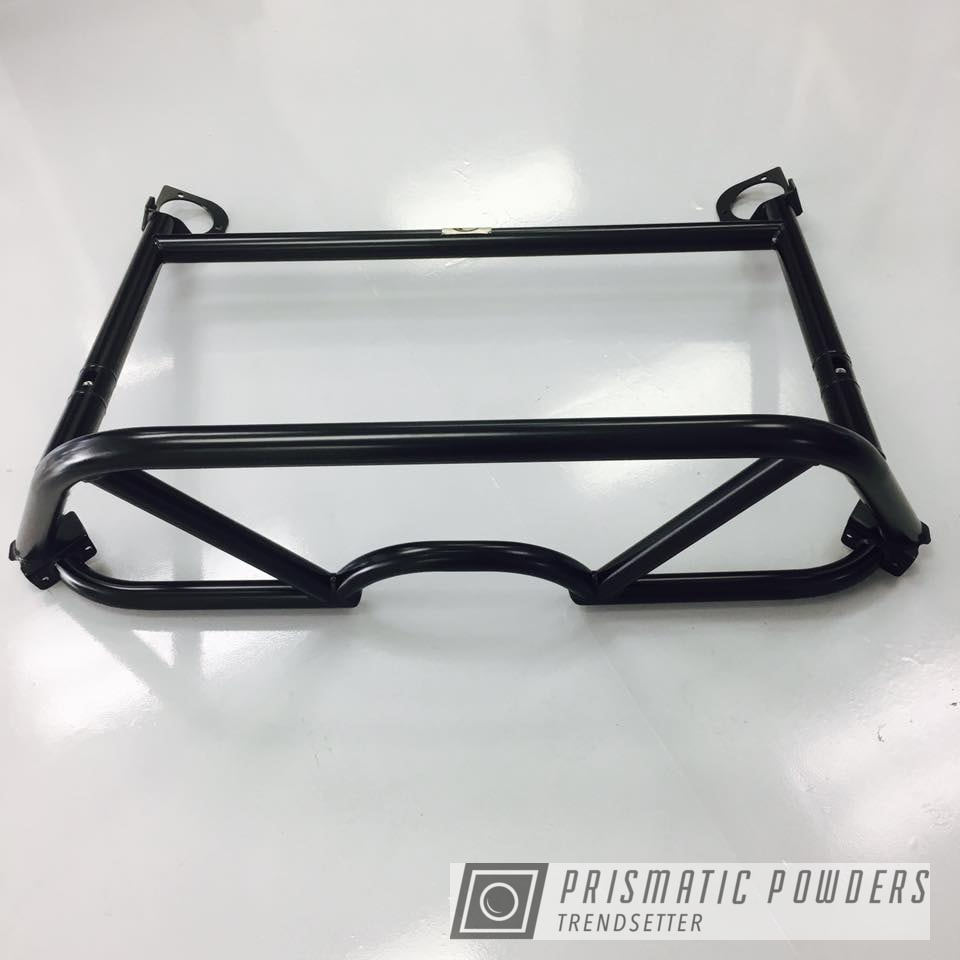 Powder Coating: Matt Black PSS-4455,Porsche,Roll Bar,GT4,Cayman