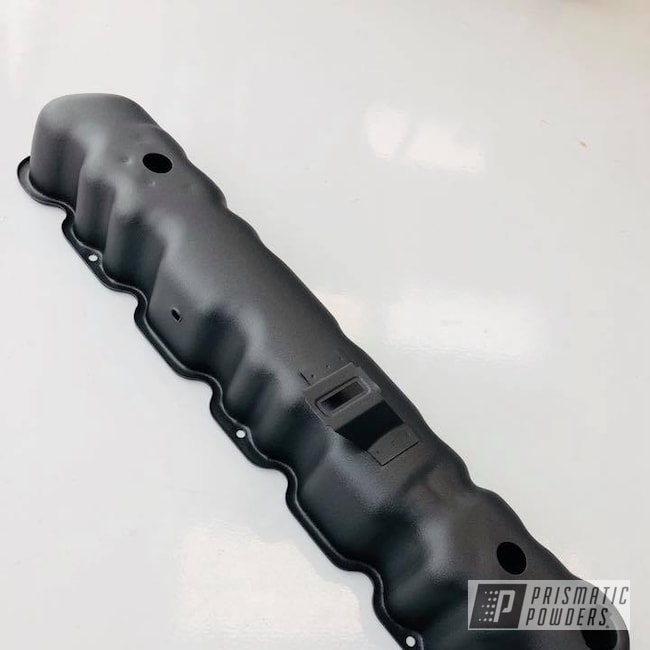 Powder Coating: Jeep,Desert Nite Black PWS-2859,Valve Cover