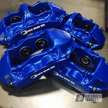 Factory Brembo Gt Kit For F87 Bmw M2 Redone In Illusion Blue-berg With A Clear Vision Top Coat