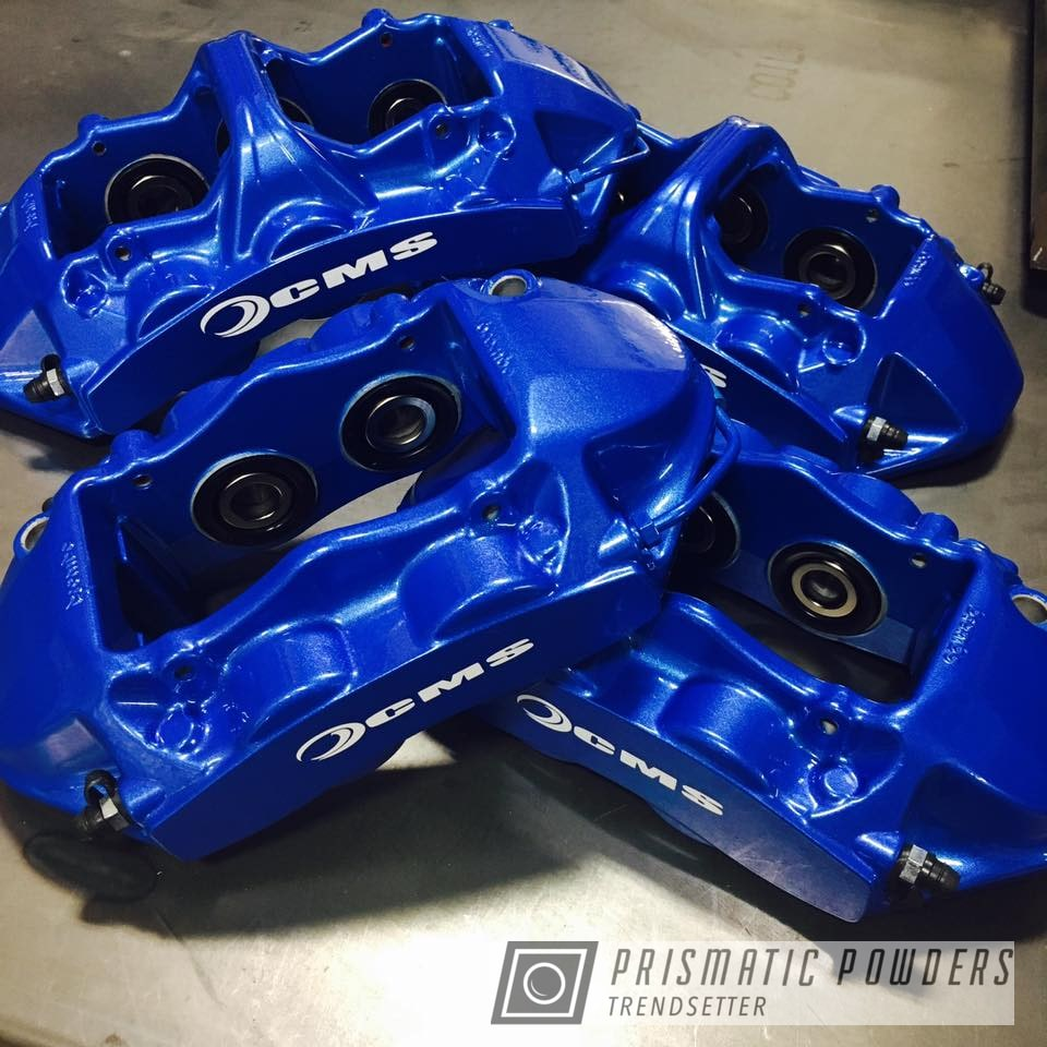 Powder Coating: M2,Illusion Blue-Berg PMB-6910,Calipers,Clear Vision PPS-2974,Brembo,BMW,Brake