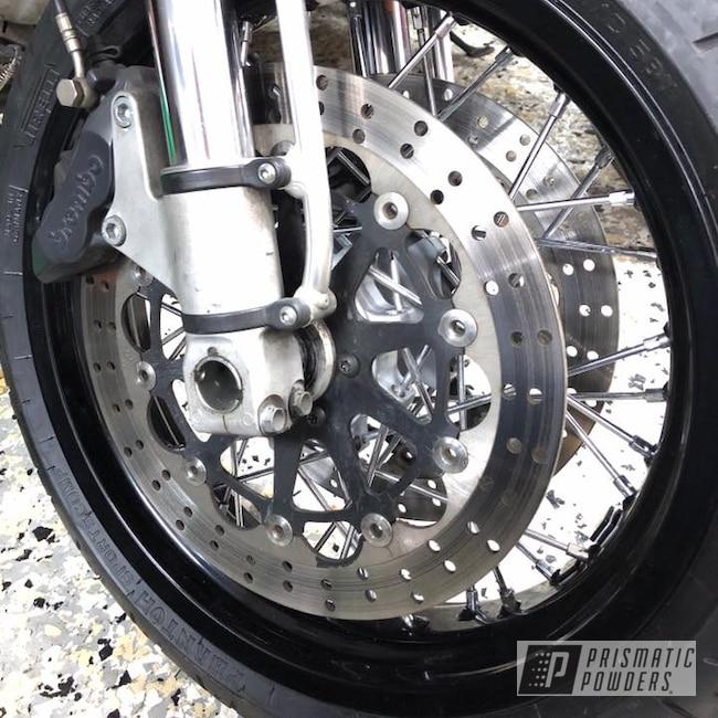 Powder Coating: Wheels,Ducati,Black,Ink Black PSS-0106,Motorcycles