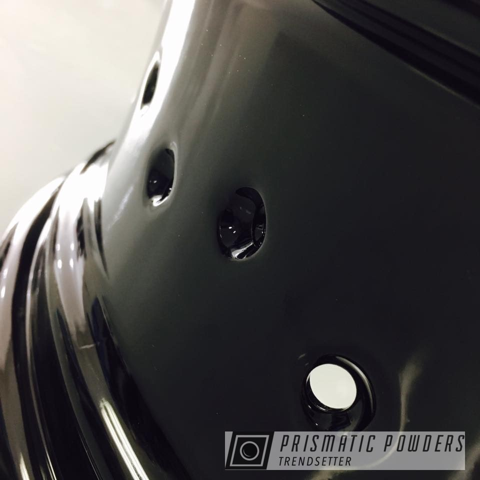 Powder Coating: Wheels,Ducati,Black,Ink Black PSS-0106,Motorcycles