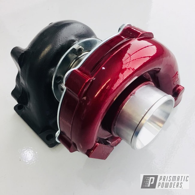 Powder Coating: Automotive,Clear Vision PPS-2974,Turbo RZR,Illusion Cherry PMB-6905