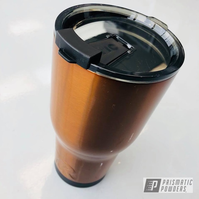 Powder Coating: Tumbler,Transparent Copper PPS-5162,RTIC