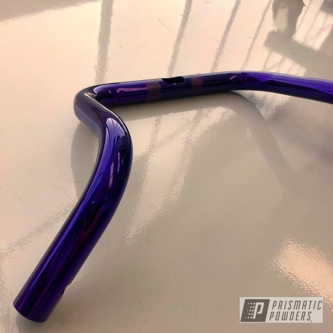 Powder Coating: handle bars,Motorcycles,Lollypop Purple PPS-1505