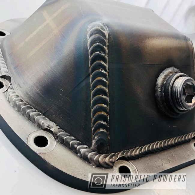 Powder Coating: Differential,Clear Top Coat,Casper Clear PPS-4005,Cover