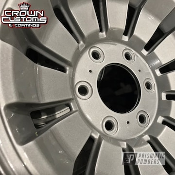 Jeep Wagoneer Wheels Done In Mystery Silver With Clear Vision Top Coat