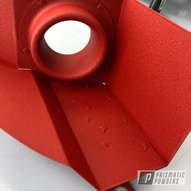 Powder Coating: red,Cold Air Intake,wrinkle,Desert Red Wrinkle PWS-2762,Textured