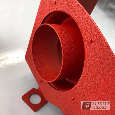 Powder Coating: Wrinkle,Red,Cold Air Intake,Desert Red Wrinkle PWS-2762,Textured