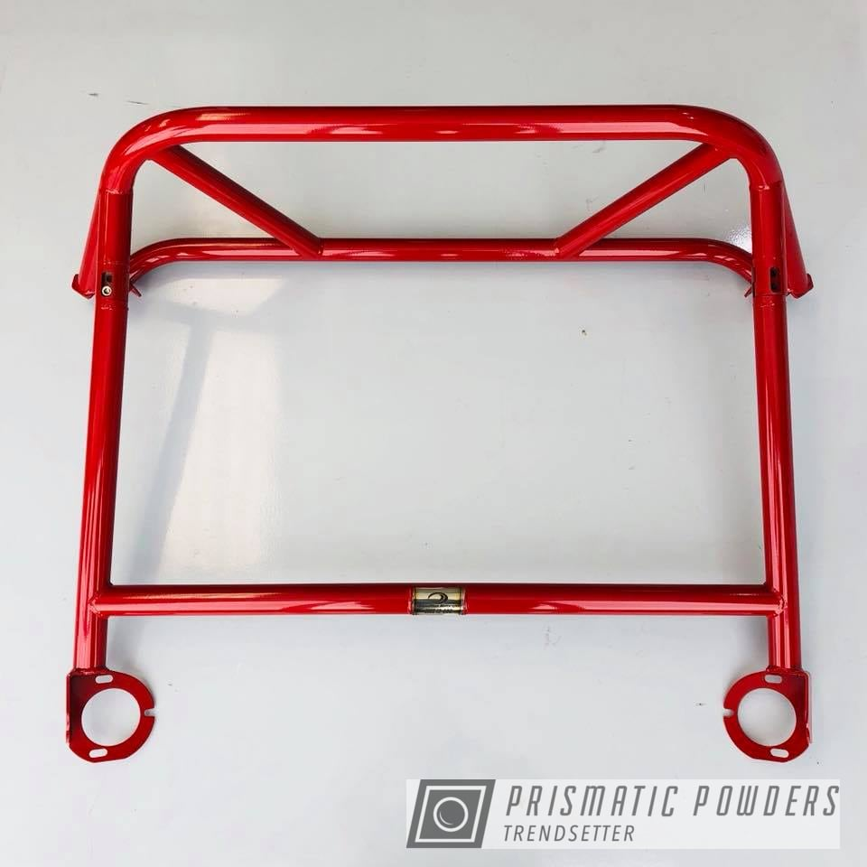 Powder Coating: Roll Bar,GT4,RAL 3003 RAL-3003