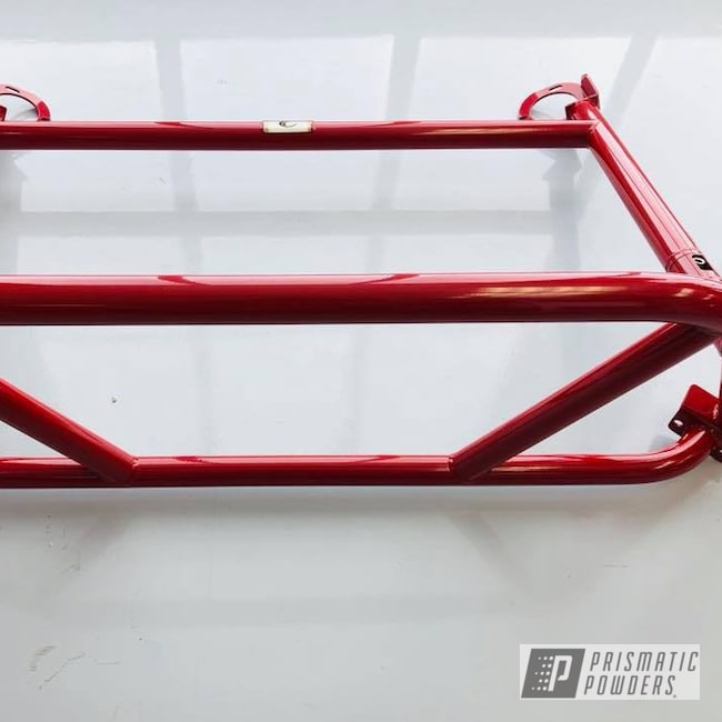 Powder Coating: Roll Bar,RAL 3003 RubyRed,GT4