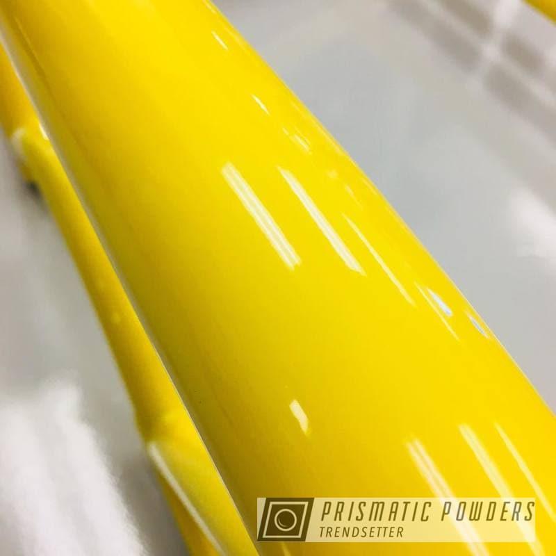 Powder Coating: Automotive,Porsche,Roll Bar,RAL 1018 RAL-1018,GT4