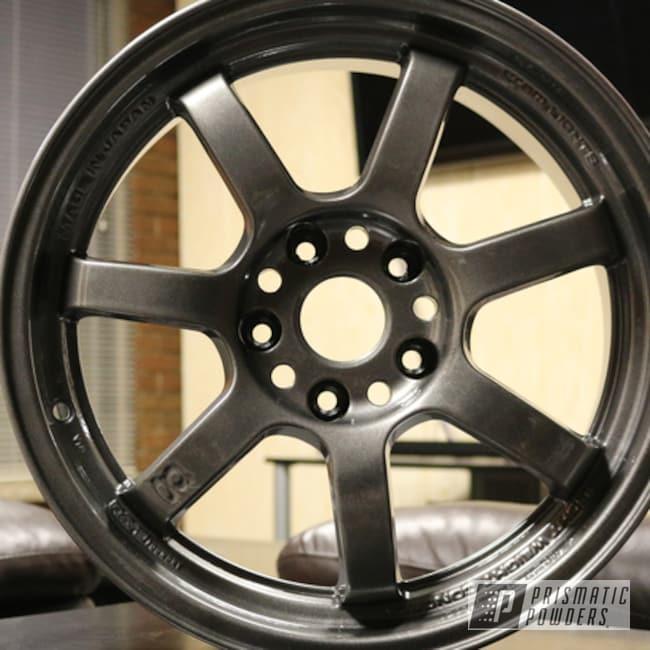Powder Coating: Wheels,Automotive,Kingsport Grey PMB-5027,Gunmetal,Rays