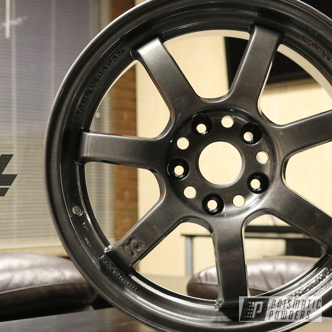Powder Coating: Wheels,Automotive,Kingsport Grey PMB-5027,Gunmetal,Rays