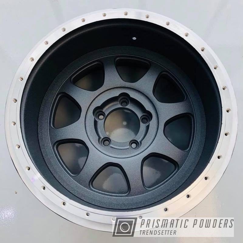 Powder Coating: DUSK GREY UTB-2467,Wheels,Custom,Beadlock
