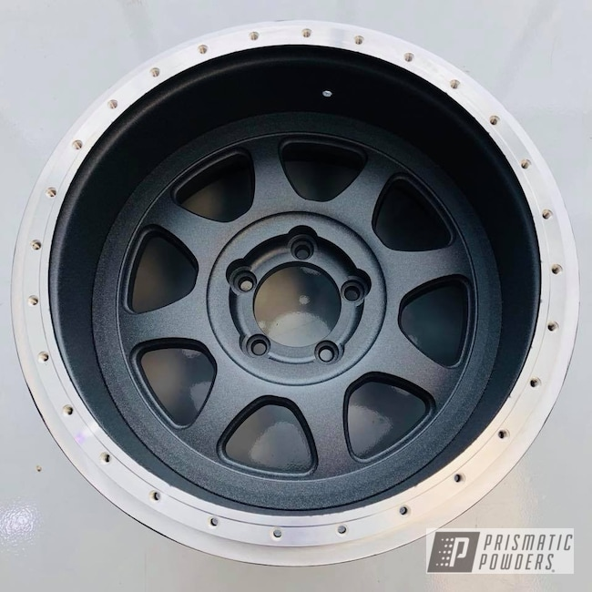 Powder Coating: Wheels,Custom,Dusk Grey UTB-2467,Beadlock