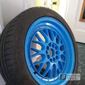 Gsx Wheels Done In Playboy Blue