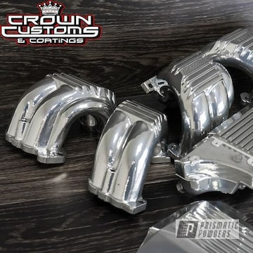 Chevy Parts Coated In Super Chrome With Clear Vision Top Coat