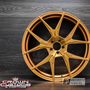 Rohana Wheels Done Is Illusion True Copper With Clear Vision Top Coat