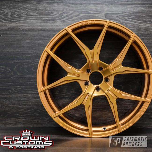 Powder Coating: Illusion True Copper PMB-10044,Wheels,Automotive,Clear Vision PPS-2974,Rohana Wheels