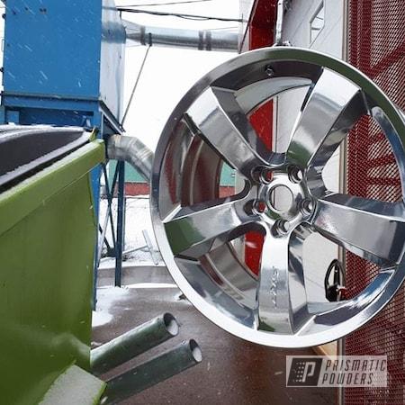 Powder Coating: Wheels,SUPER CHROME USS-4482