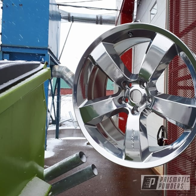 Powder Coating: Wheels,SUPER CHROME USS-4482