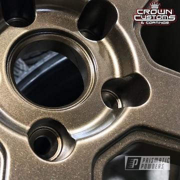 Ferrada Wheels Done In Bronze Chrome With Soft Clear Top Coat