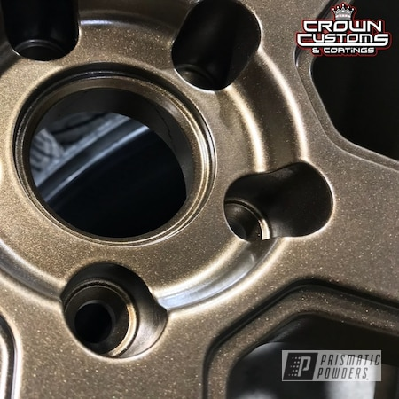 Powder Coating: Wheels,Ferrada,Automotive,Soft Clear PPS-1334,Bronze Chrome PMB-4124,Ferrada Wheels