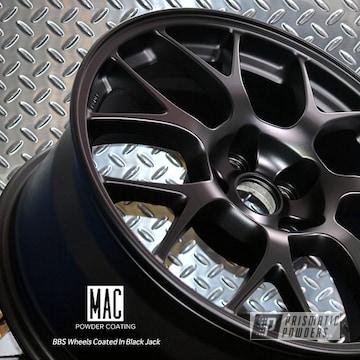 Bbs Wheels Coated In Black Jack