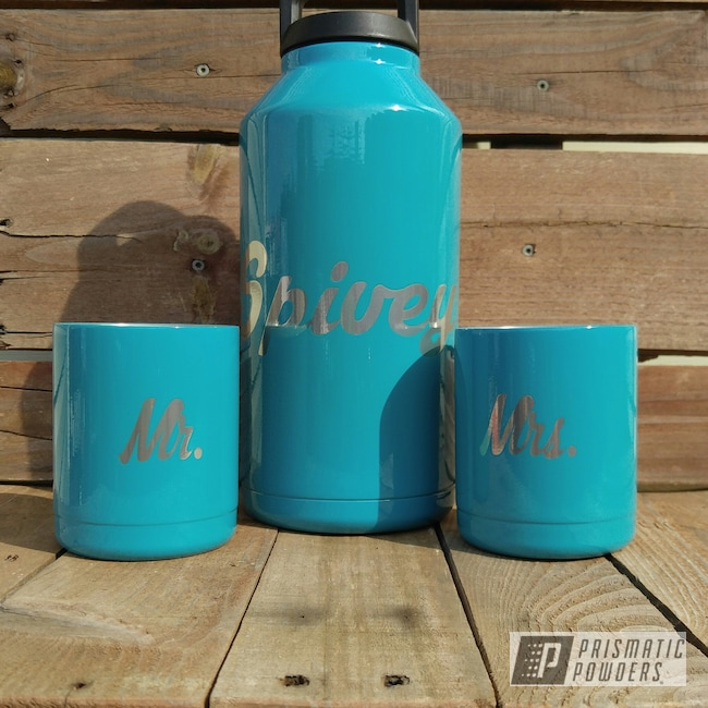 Powder Coating: Custom Cups,Native Stone PSB-6757,Personalized,Native Stone