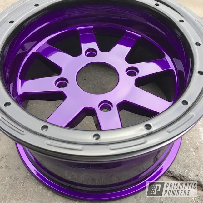 Powder Coating: Illusion Purple PSB-4629,Wheels,Automotive,Clear Vision PPS-2974
